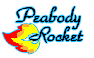 The Peabody Rocket Band Retina Logo